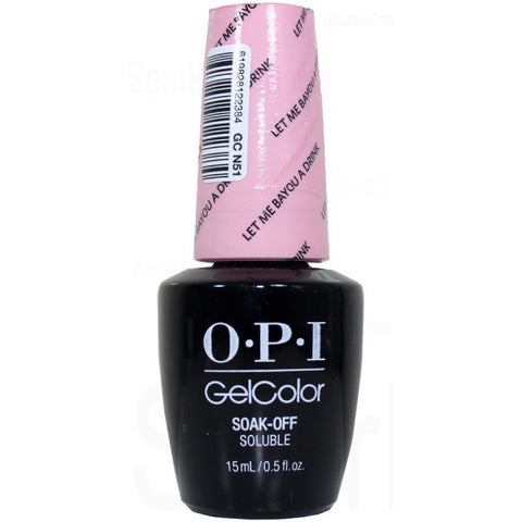 OPI Let Me Bayou a Drink Gel Nail Polish GCN51