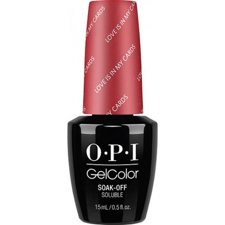 OPI Love is in My Cards Gel Nail Polish GCHPG32