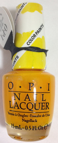 Opi Primarily Yellow Nail Polish P20 Nail Polish Diva
