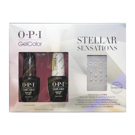 OPI Stellar Gel Nail Polish Duo Set GCHPG08