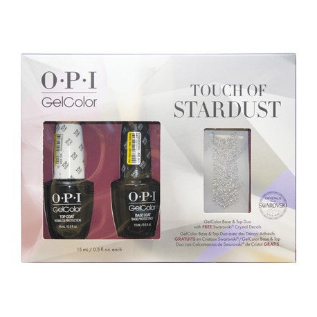 OPI Touch of Stardust Gel Nail Polish Duo Set GCHPG07