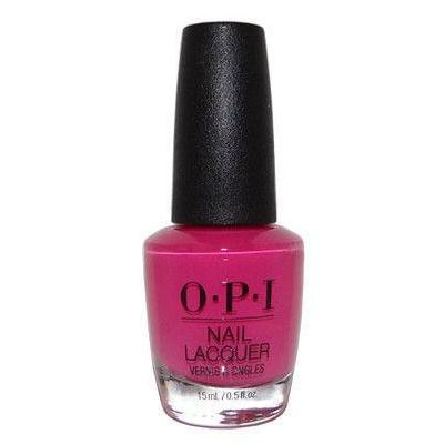 OPI No Turning Back From Pink Street Nail Polish NLL19
