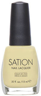 Sation Lemon Pearl Nail Polish 9007