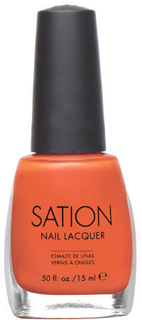 Sation Show Off Your Navel Orange Nail Polish 9003