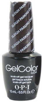 OPI Sleigh Parking Only Gel Nail Polish HPF12
