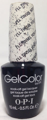 OPI I'll Tinsel You In Gel Nail Polish HPF15