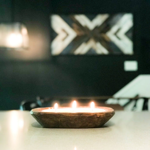 Dough Bowl Candle