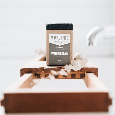 Woodsman soap by Woodfire Candle Co
