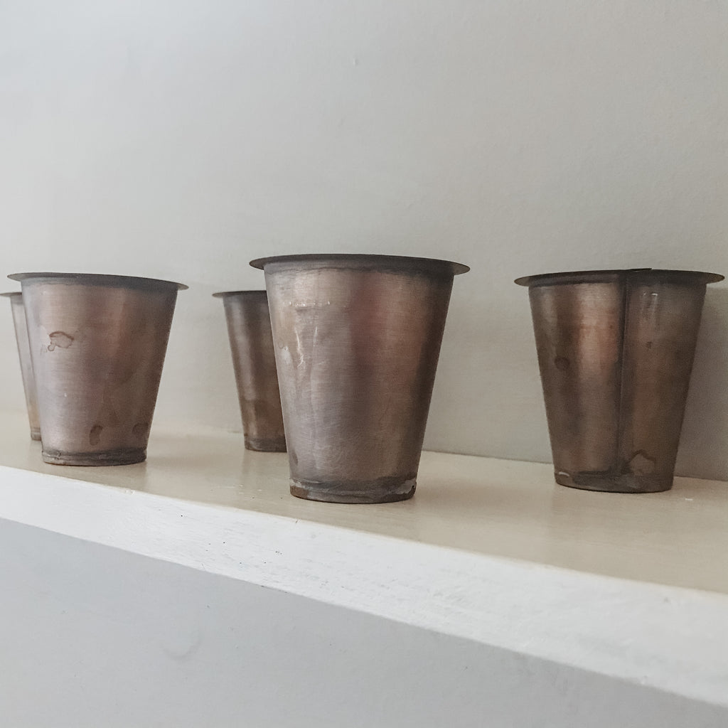 Sugar Mold Tin Cup Inserts
