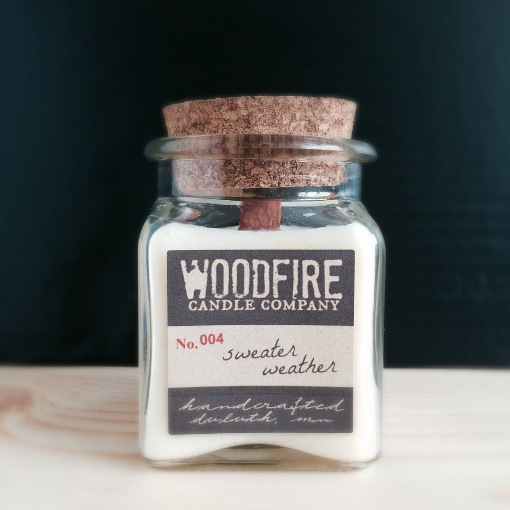 Apothecary Wood Wick Soy Candle - Woodfire Candle Co - 3