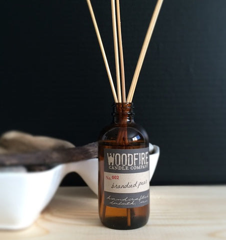 Pick 3 Amber Reed Diffuser Set - Woodfire Candle Co