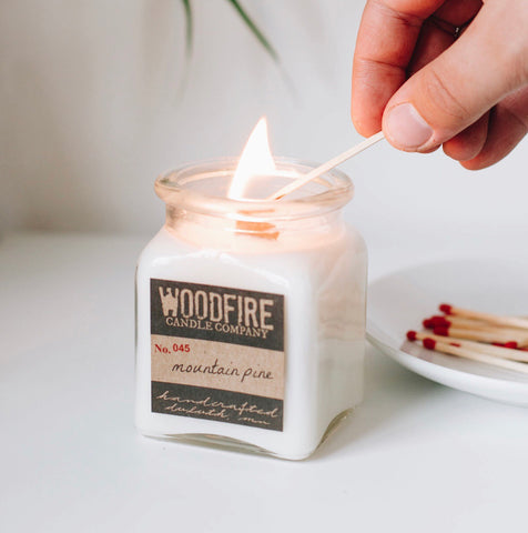Apothecary Wood Wick Soy Candle