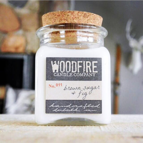 Apothecary Wood Wick Soy Candle - Woodfire Candle Co - 1