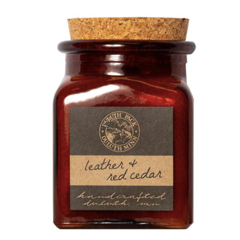 Leather & Red Cedar Custom Duluth Pack Candle