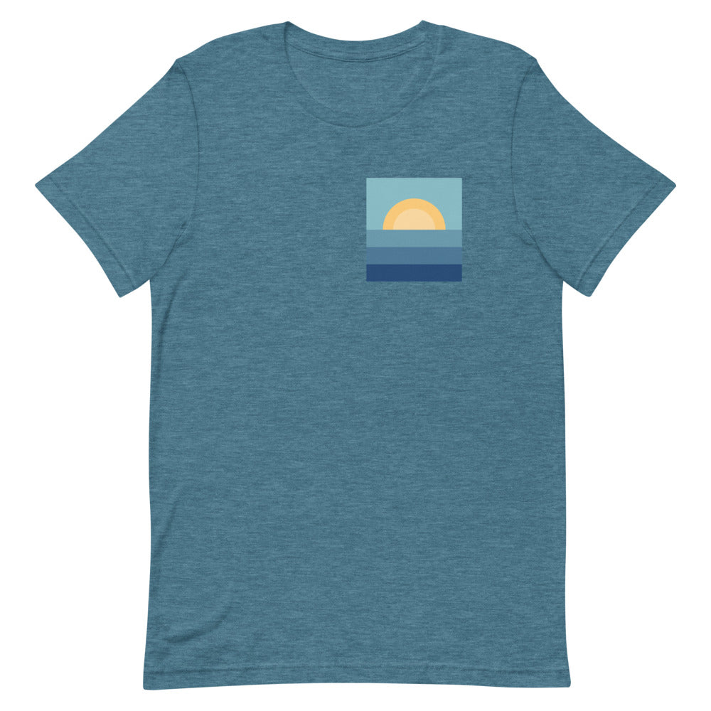 Lake Sunset Unisex T-Shirt