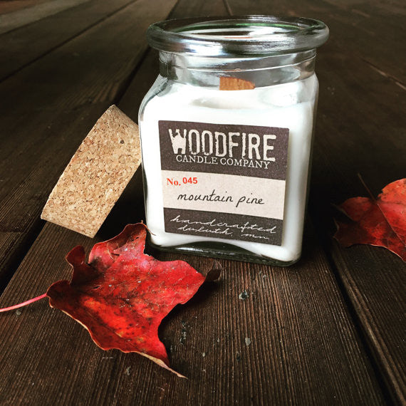 Apothecary Wood Wick Soy Candle - Woodfire Candle Co - 2