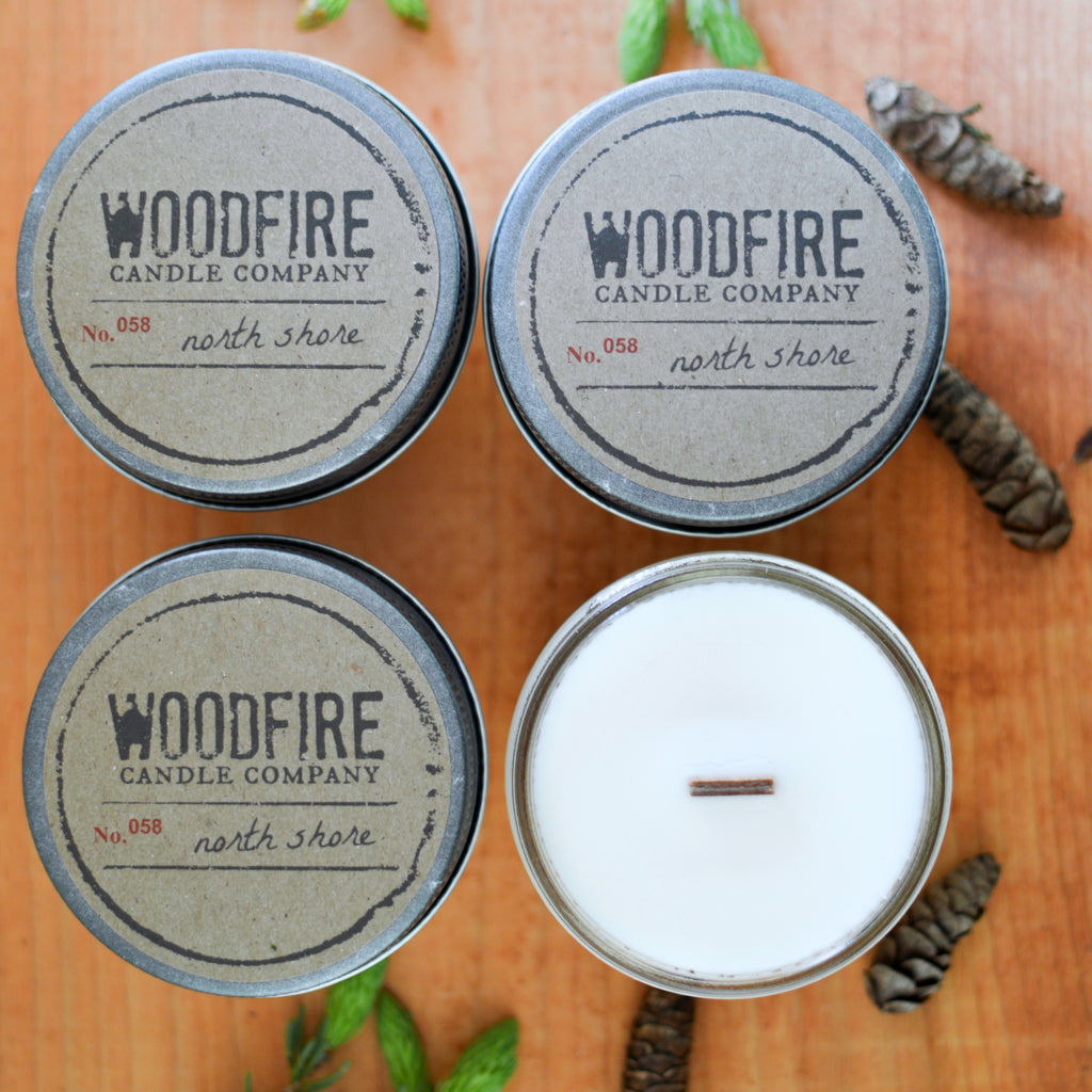 Pick 4 Jelly Jar Wood Wick Soy Candles