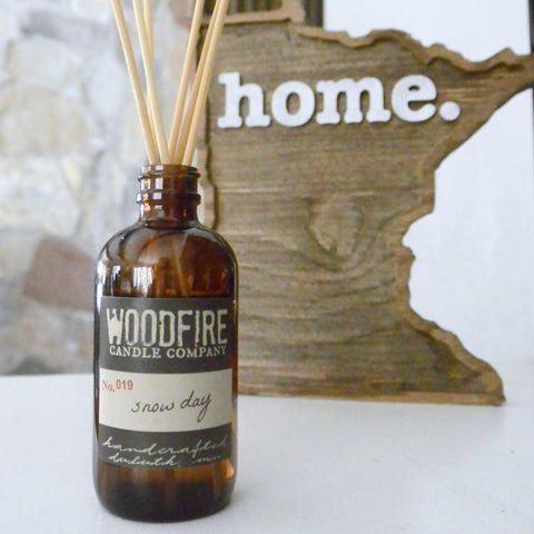 Amber Reed Diffuser - Woodfire Candle Co - 1