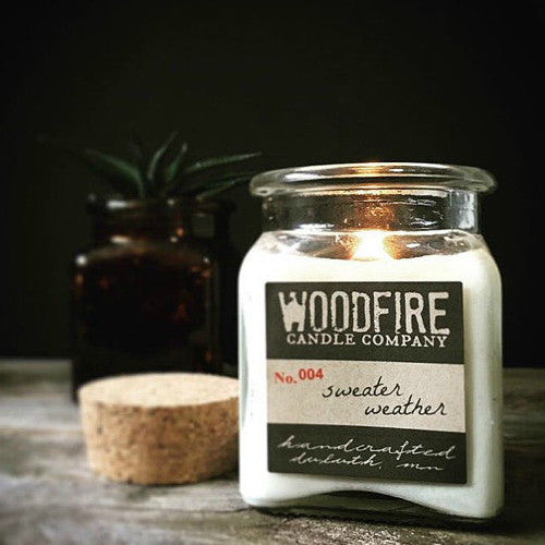 Apothecary Wood Wick Soy Candle - Woodfire Candle Co - 6