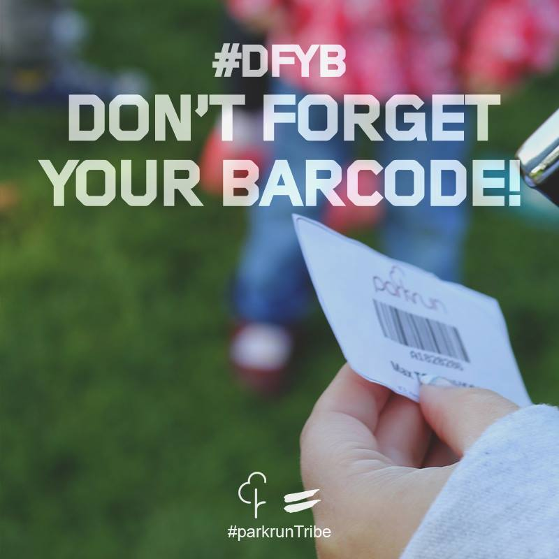 Don't forget your barcode