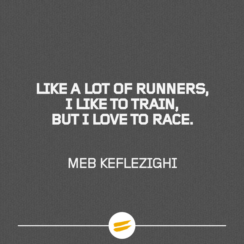 Like a lot of runners, I like to train, but I love to race.
