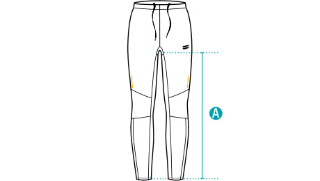 Size Guide Men's Performance Running Tights