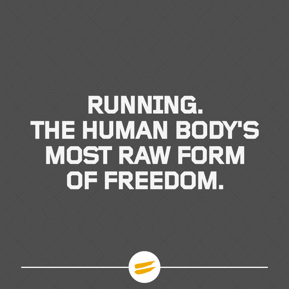 The human body's most raw form of freedom