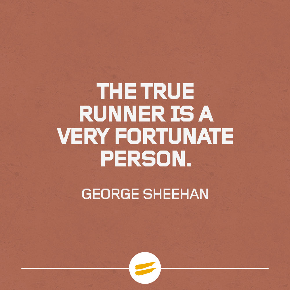 The true runner is a very fortunate person.