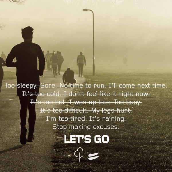 parkrun : let's go - no excuses