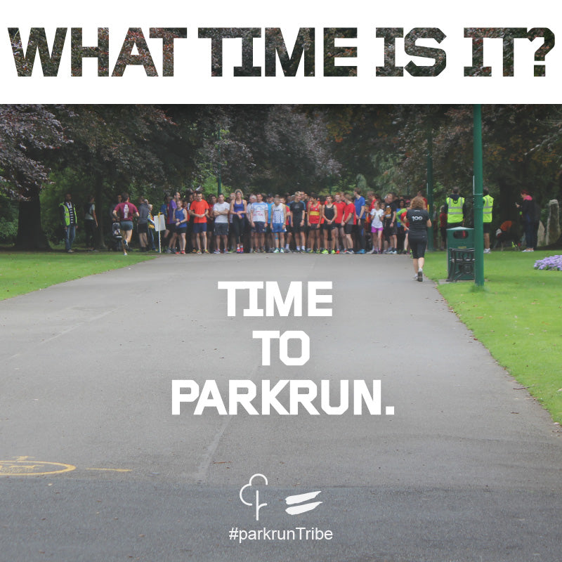time to parkrun