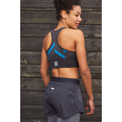 Sports Bra - Pewter Grey