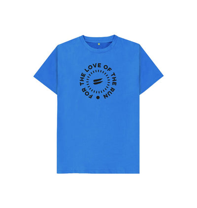 Bright Blue For the Love of the Run Tee - Kid's