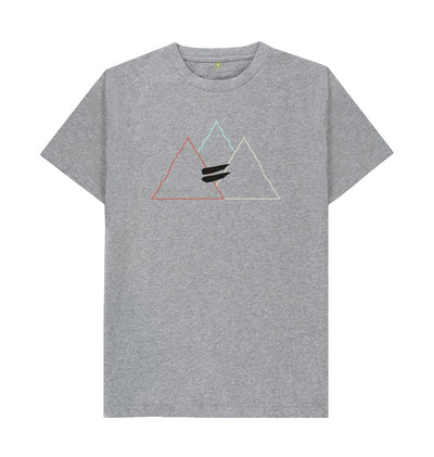 Athletic Grey Summit Tee in Multi - Men's