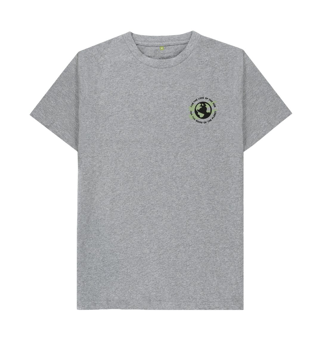 Athletic Grey Earth Tee in Terrain - Men's