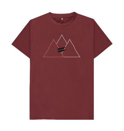 Red Wine Summit Tee in Multi - Men's