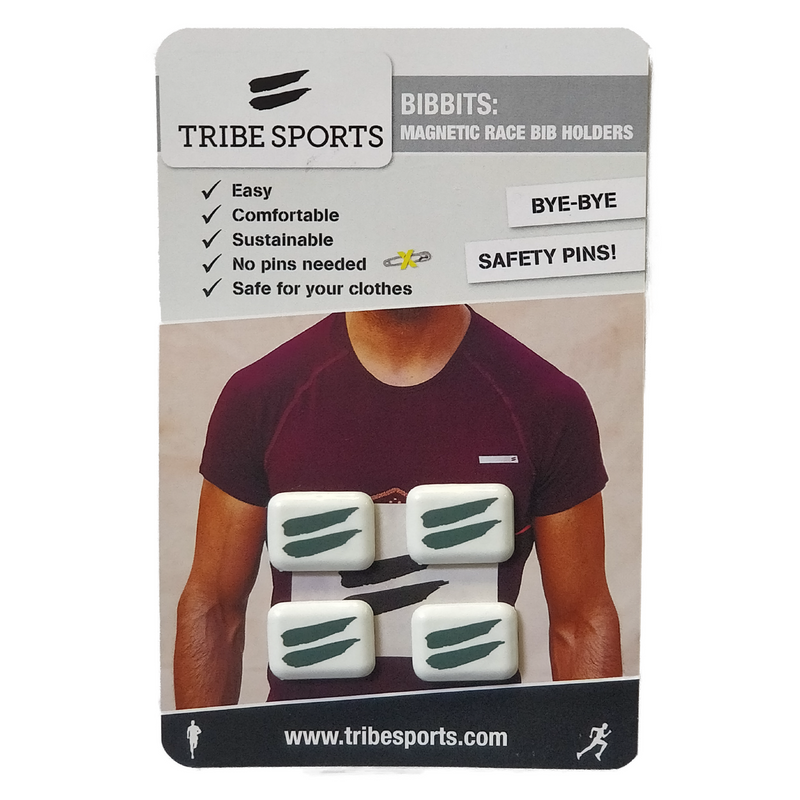 Tribesports Bibbits - Magnetic Race Bib Holders , Tribesports - 3