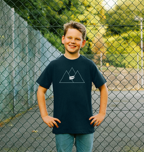 Summit Tee in Sky - Kid's