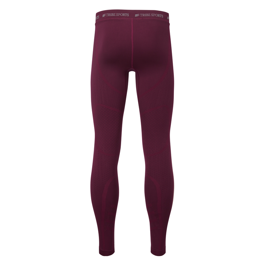 Compression Tight - Burgundy