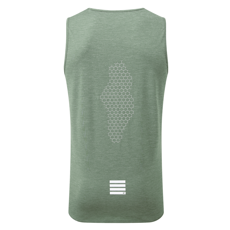 Tech Tank - Green Heather