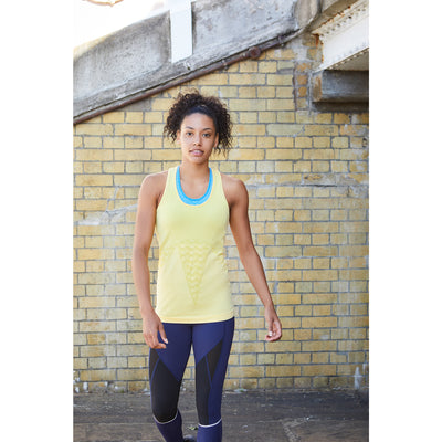 Racer Vest - Sunshine Yellow