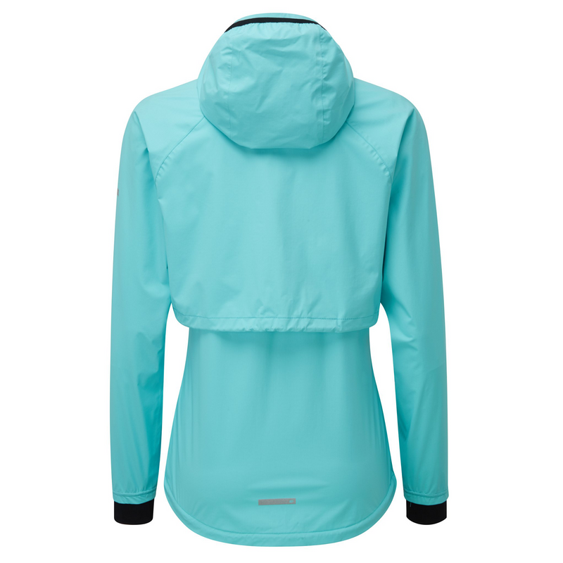 Running Morph Jacket - Fresh Aqua