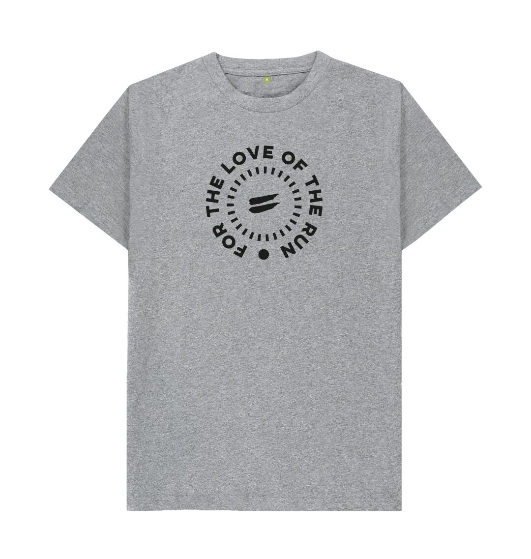 Athletic Grey For the Love of the Run Tee - Men's