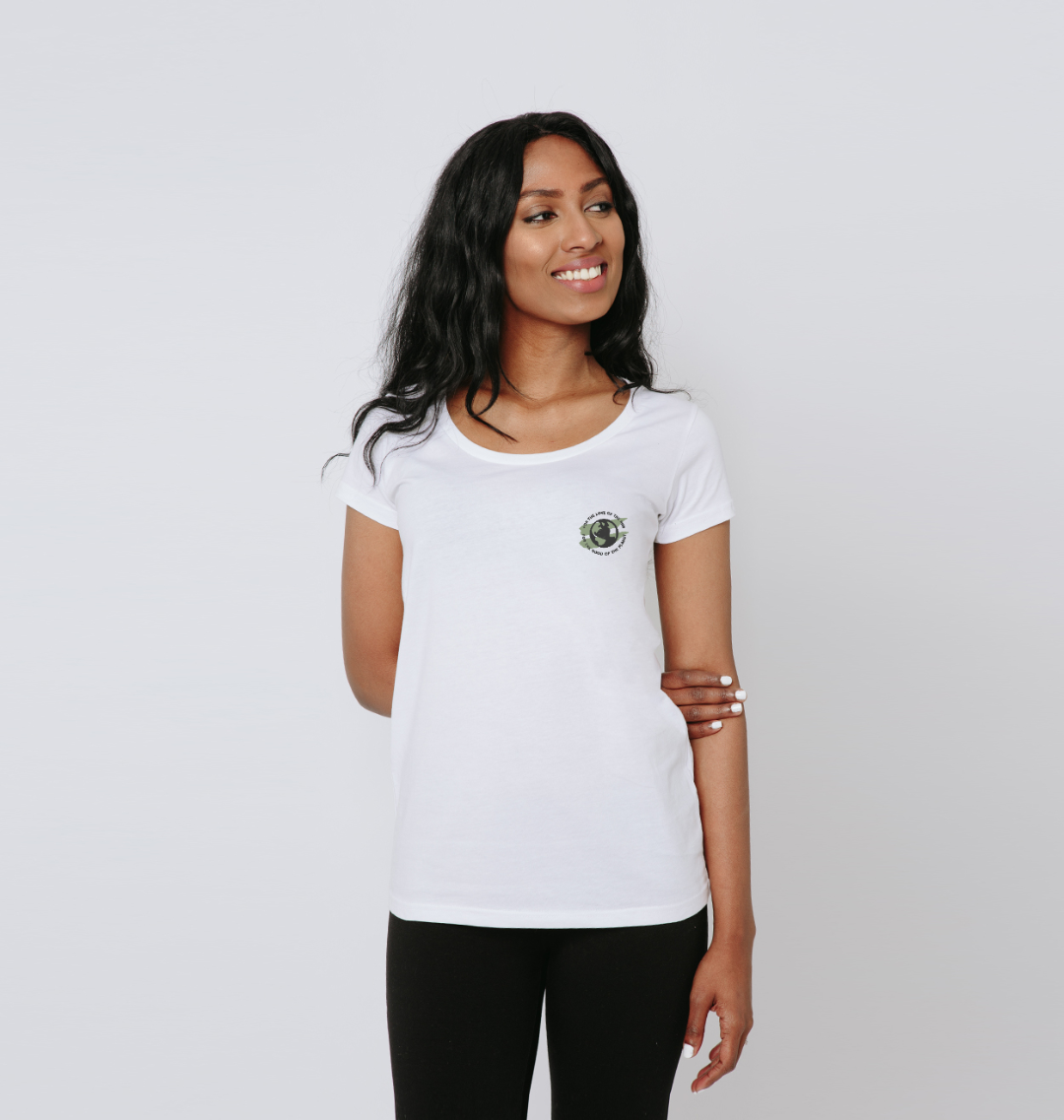 Earth Scoop Tee in Terrain - Women's