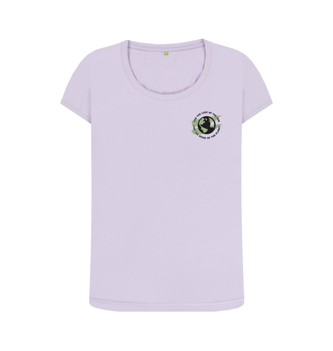 Violet Earth Scoop Tee in Terrain - Women's