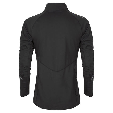 Men's Half-Zip Mid Layer - Black , Tribesports - 2
