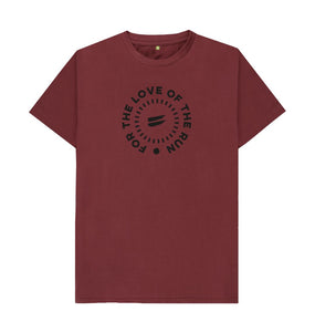 Red Wine For the Love of the Run Tee - Men's