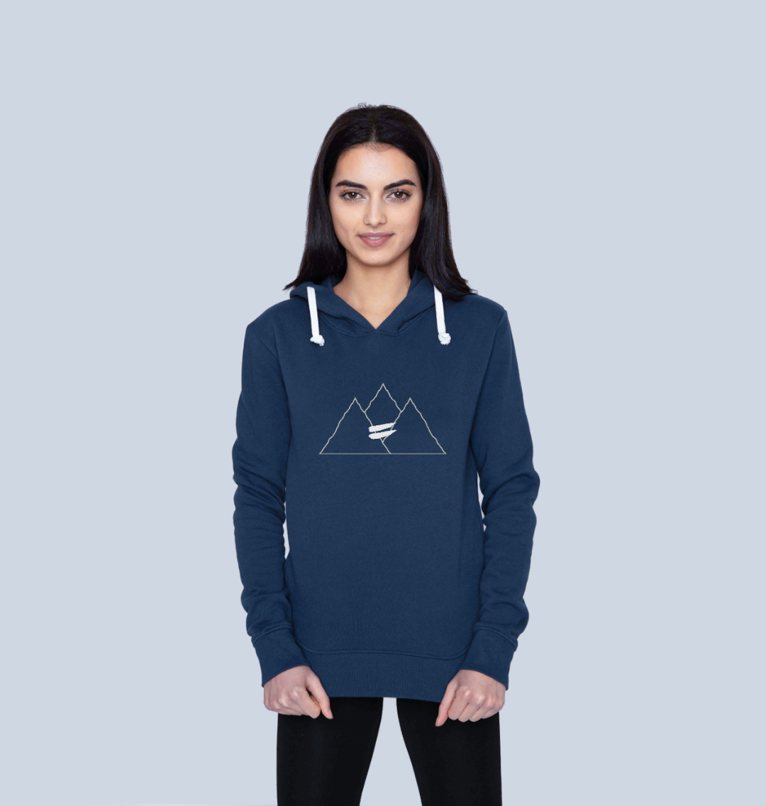 Summit Hoodie in Snow - Women's