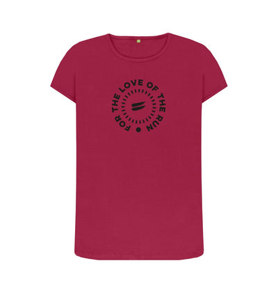 Cherry For the Love of the Run Tee - Women's
