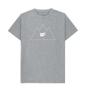 Athletic Grey Summit Tee in Snow - Men's