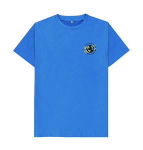 Bright Blue Earth Tee in Terrain - Men's